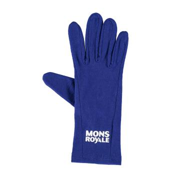 Mons Royale Volta Glove Liner - Electric Blue