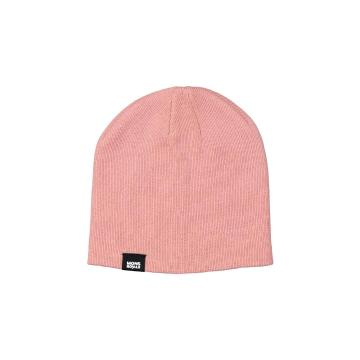 Mons Royale Unisex The Shorty Beanie - Dusty Pink