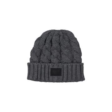 Mons Royale Unisex Rope Tow Beanie - Charcoal Marl