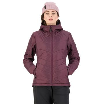 Mons Royale Women's Nordkette Insulation Hood - Wine