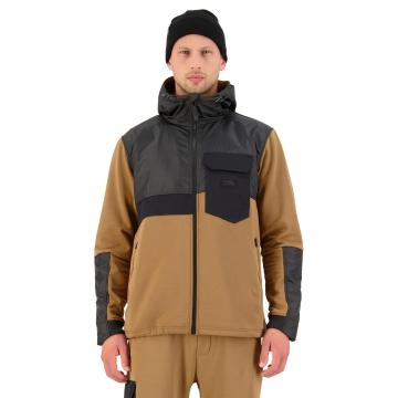 Mons Royale Men's Decade Tech Mid Hood - Toffee