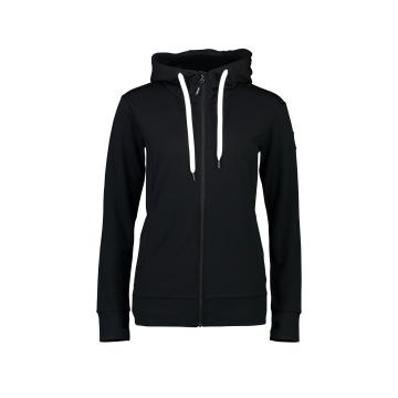 Mons Royale Women's Covert Mid-Hit Hoody - Black
