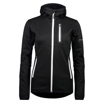 Mons Royale Women's Approach Tech Mid Hoodie - Black