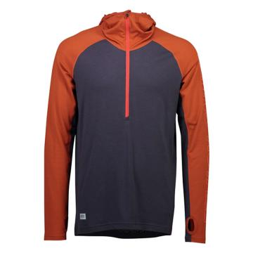 Mons Royale Men's Temple Tech Hoodie - Clay/Iron