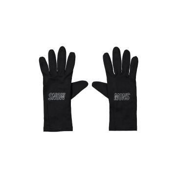 Mons Royale Volta Glove Liners - Black/Reflective