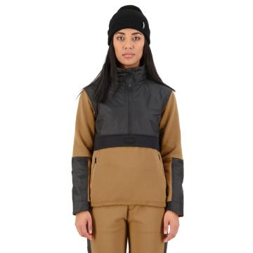 Mons Royale Women's Decade Tech Mid Pullover - Toffee