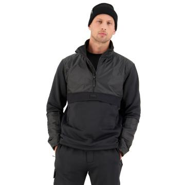Mons Royale Men's Decade Tech Mid Pullover - Black