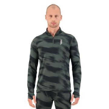 Mons Royale Men's Cascade Merino Flex 200 1/4 Zip - Rosin Motion