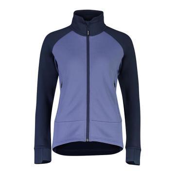 Mons Royale Women's Nevis Wool Fleece Jacket - Blue Velvet