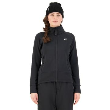 Mons Royale Women's Nevis Wool Fleece Jacket - Black