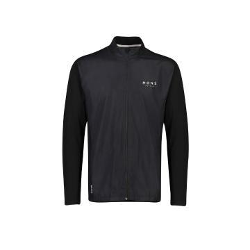 Mons Royale Men's Redwood Wind Jersey - Black