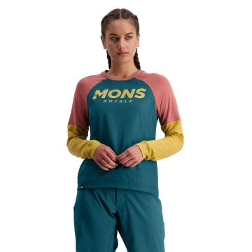 Mons Royale Women's Tarn Freeride Long Sleeve Wind Jersey
