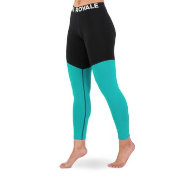 Mons Royale Women's Cascade Merino Flex 200 Leggings - Marina/Black