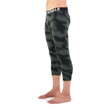 Mons Royale Men's Cascade Flex 200 3/4 Leggings