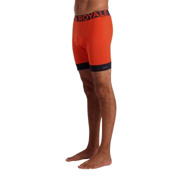 Mons Royale Men's Enduro Bike Short Liner - Orange Smash