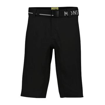 Mons Royale Men's Virage Shorts MR Stack - Black