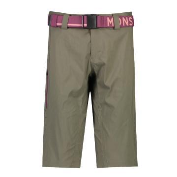 Mons Royale Women's Virage Shorts MR Stack - Olive