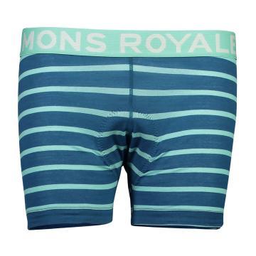 Mons Royale Women's Momentum Chamois Shorts - Horizon Stripe
