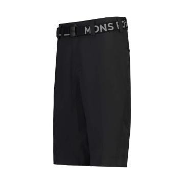 Mons Royale Women's Virage Bike Shorts - Black