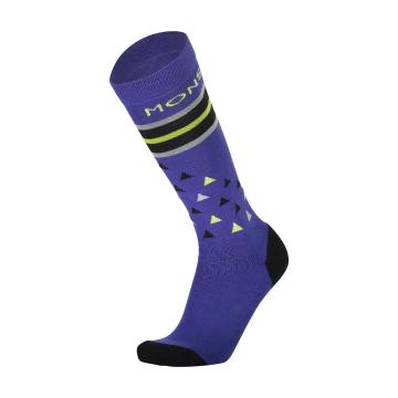 Mons Royale Men's Lift Access Socks - Ultra Blue/Black