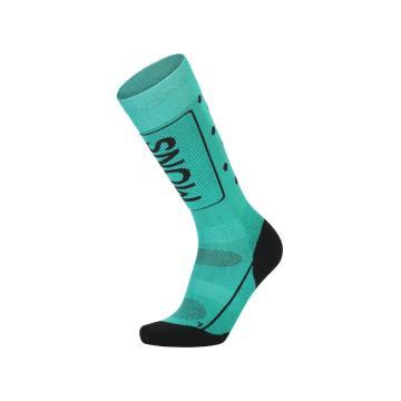 Mons Royale Women's Tech Cushion Socks - Marina/Black