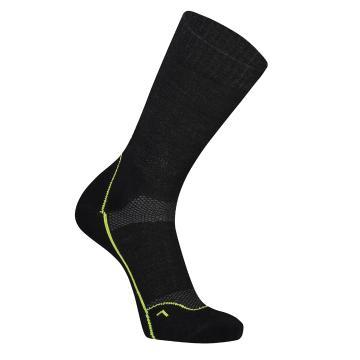 "Mons Royale Men's MTB 9"" Tech Sock Up Down - Black"