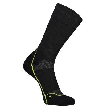 "Mons Royale Men's MTB 9"" Tech Sock Up Down - Black"