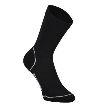Mons Royale Women's Tech Bike Socks 2.0 Up Down - Black/Grey