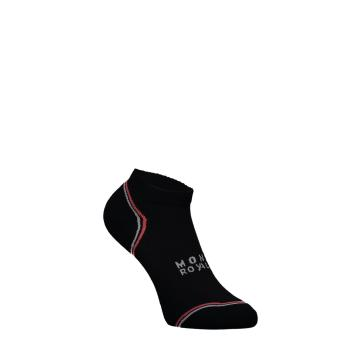 Mons Royale Women's Vert Ankle Sock - Black
