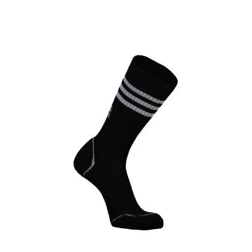 Mons Royale Men's Signature Crew Socks - Black/Grey