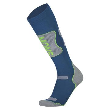Mons Royale Men's Pro Lite Tech Sock - Oily Blue/Grey/Citrus