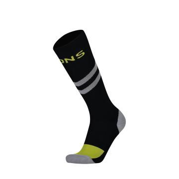 Mons Royale Women's Tech Bike Sock 2.0 - Black/Grey