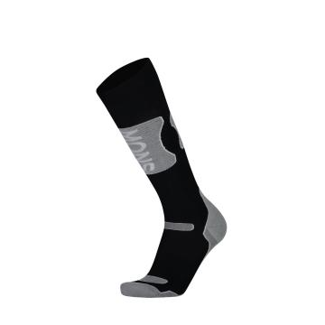 Mons Royale Men's Pro Lite Tech Sock - Black/Grey Marl