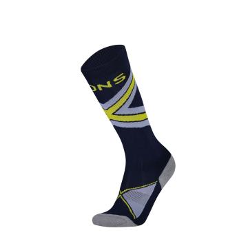 Mons Royale Women's Lift Access Sock - Navy/BlueFog