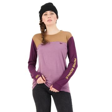 Mons Royale Women's Yotei BF Tech Long Sleeve - Into The Wild