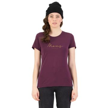 Mons Royale Women's Icon Tee - Wine