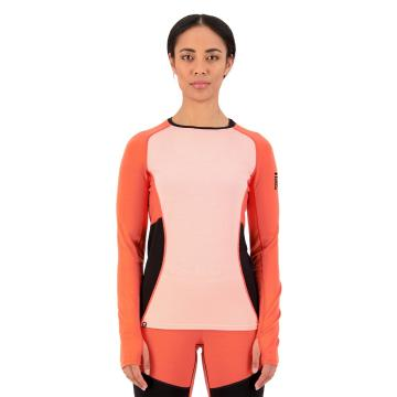 Mons Royale Women's Olympus 3.0 Long Sleeve - High Vis