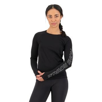 Mons Royale Women's Bella Tech Long Sleeve - Black