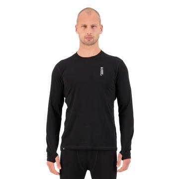 Mons Royale Men's Cascade Merino Flex 200 Long Sleeve - Black