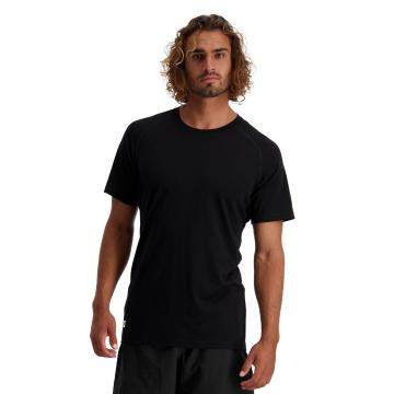 Mons Royale Men's Temple Tech Tee - Black