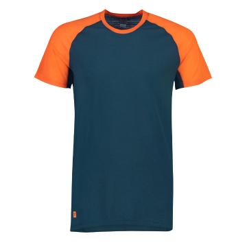Mons Royale Men's Temple Tech T MR - Orange Smash