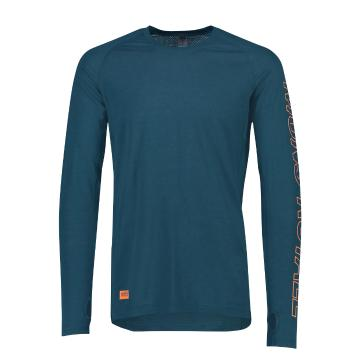 Mons Royale Men's Temple Tech Long Sleeve MR - Atlantic