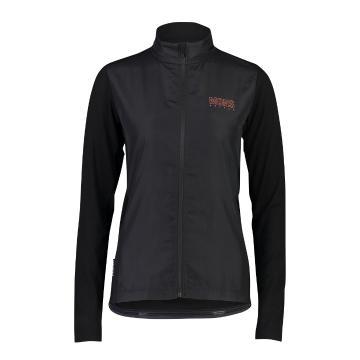 Mons Royale Women's Phoenix Wind Jersey MR Box OL - Black/Neon