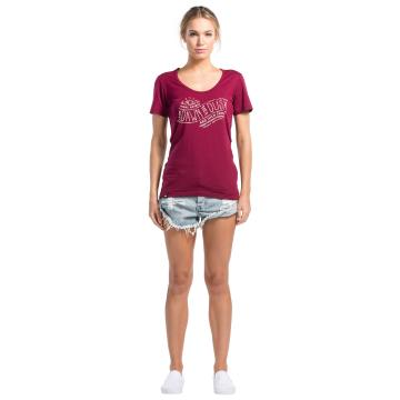 Mons Royale Women's Merino Charlie Scoop D to D Tee