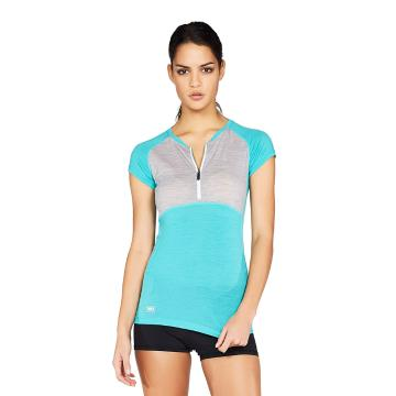 Mons Royale Women's Bella Zip Tech Merino Tee