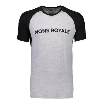 Mons Royale Men's Temple Tech Merino Tee - Raglan