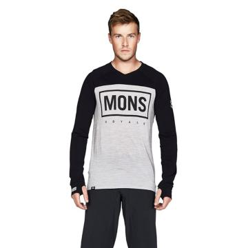 Mons Royale Men's Redwood V Long Sleeve Jersey