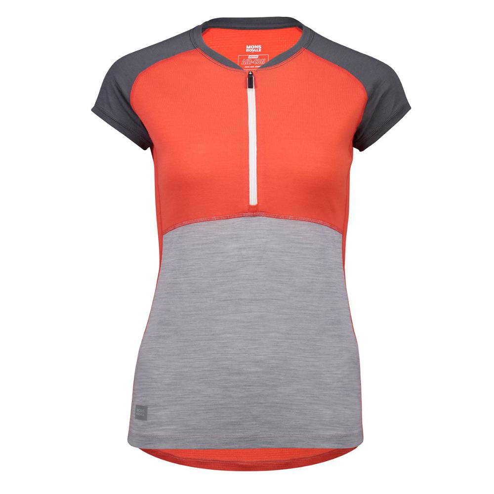 Women's Bella Tech Zip Tee