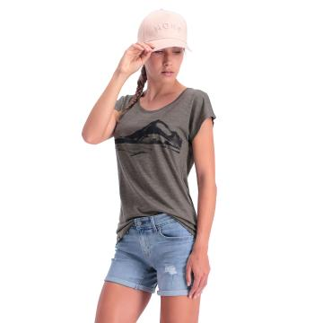 Mons Royale Women's Estelle Cap Tee