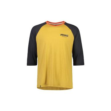 Mons Royale Men's Tarn Freeride Raglan 3/4